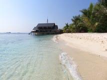 Paraíso Maldives Fotografía de archivo