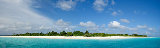 Paraíso maldivo Imagens de Stock