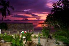 Paraíso na terra foto de stock