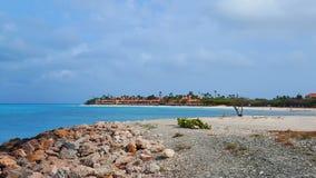 Paraíso para admirar en el mejor arround de las playas el mundo foto de archivo libre de regalías