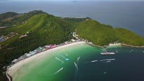 paraíso tropical asiático de la playa 4K