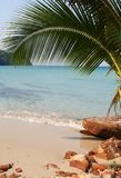 Paraíso tropical da praia imagens de stock