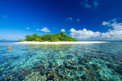 Paraíso tropical das férias do console Fotos de Stock