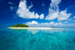 Paraíso tropical das férias do console Imagens de Stock Royalty Free
