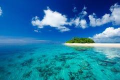 Paraíso tropical das férias do console Imagem de Stock