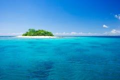 Paraíso tropical das férias do console Imagens de Stock