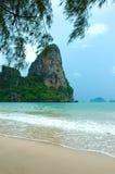 Paraíso tropical das férias, Krabi, Tailândia Fotos de Stock