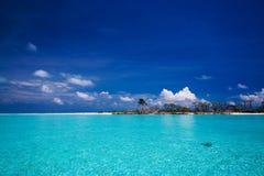 Paraíso tropical de la isla Fotografía de archivo
