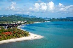 Paraíso tropical de la isla imagen de archivo