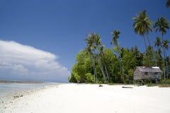 Paraíso tropical de la isla Foto de archivo