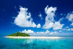 Paraíso tropical de las vacaciones de la isla Fotos de archivo libres de regalías
