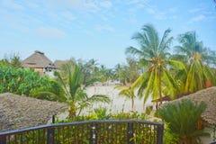 Paraíso tropical de Zanzibar A fotos de stock