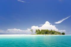 Paraíso tropical do console Fotografia de Stock
