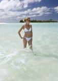 Paraíso tropical - Tahití en Polinesia francesa fotografía de archivo