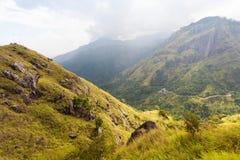 Paraíso verde en Sri Lanka foto de archivo