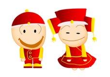 para śliczny szczęśliwy Oriental Zdjęcia Royalty Free