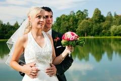 para ślub przyszłościowy przyglądający obraz stock