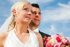 para ślub przyszłościowy przyglądający obrazy stock