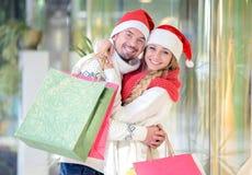para świąteczne Zdjęcia Stock