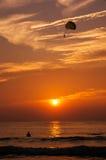 Para além da praia de sun Patong fotografia de stock royalty free