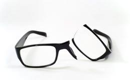 Łamani eyeglasses Zdjęcie Stock