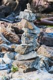 Para arriba llenadas piedras Imagen de archivo libre de regalías