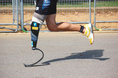 Para athlete Royalty Free Stock Photos