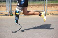 Para athlete royalty free stock photos