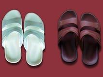Para av skor arkivfoto