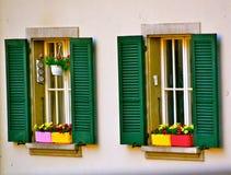 Para av Windows Royaltyfri Bild