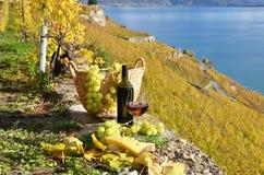 Para av wineglasses Arkivfoton