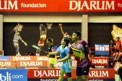 Para badminton Stock Images