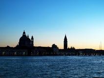Para baixo em Veneza Foto de Stock