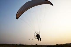 Para-Bewegungssegelflugzeug Stockbild