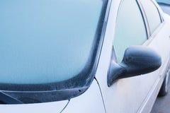 Para-brisa congelado Imagens de Stock