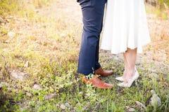 Para cieki Samiec i kobieta Fotografia Stock