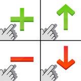 Para cima e para baixo Imagem de Stock