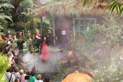 Para comemorar Halloween em Montreal imagens de stock royalty free
