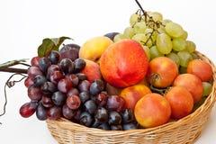 Para comer sano: frutas del verano Foto de archivo libre de regalías