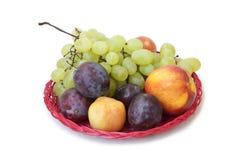 Para comer sano: frutas del verano Imagen de archivo