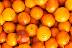 Para comer sano: naranjas Imágenes de archivo libres de regalías