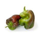 Para comer sano: pimientas Fotografía de archivo libre de regalías