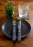 Para comida que espera Imagen de archivo