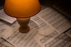 Para componer música Imagen de archivo libre de regalías