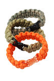 Para Cord Survival Bracelets Royalty Free Stock Photography