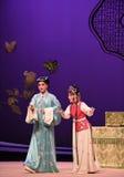 """Para dar el """"the de la ópera del consejo y de las sugerencias-Kunqu  del oeste de Chamber†foto de archivo libre de regalías"""