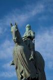 Para el monumento solo de Roberto Bruce del â de la libertad, Bannock foto de archivo