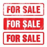 Para el sistema del sello del vector de la venta stock de ilustración