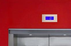 Para elevadores que esperan Imagen de archivo libre de regalías