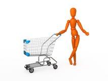 Para fazer algumas compras. Imagem de Stock